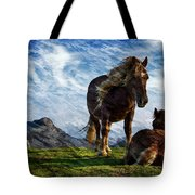 On The Range Tote Bag
