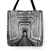 On The Right Track Tote Bag