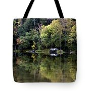 On The River Four Tote Bag