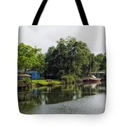 On The River In Baldwin County Alabama Tote Bag