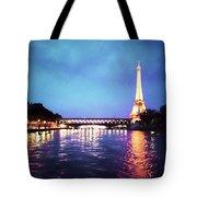 On The River Seine Tote Bag