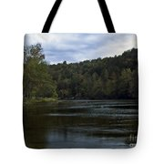 On The River Three Tote Bag