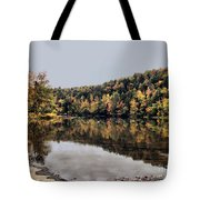 On The River Two Tote Bag