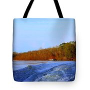 On The Rivers Bend Tote Bag