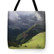 On The Road To Crystal Lake Tote Bag