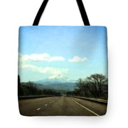 On The Road To Mount Hood Tote Bag
