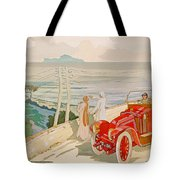 On The Road To Naples Tote Bag