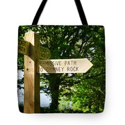 On The Road To Ruin Tote Bag