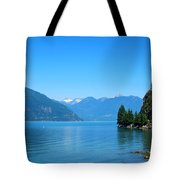 On The Road To Whistler Tote Bag