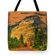 On The Road To Zion Tote Bag