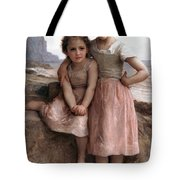 On The Rocky Beach Tote Bag