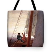 On The Sailing Boat Tote Bag