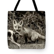 On The Scent Sepia Tote Bag