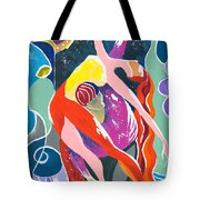 On The Stage - Onegin In My Eyes Tote Bag