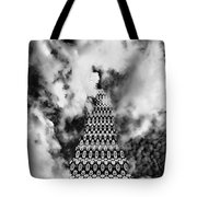 On The Riviera Stairway To Heaven Bw Palm Springs Tote Bag