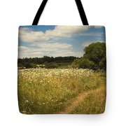 On The Summer Meadow II. Russia Tote Bag