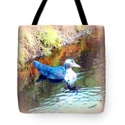 on the surface I manage to stay calm but inside I am flying to escape  Tote Bag