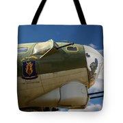 On The Tarmac B-17g Tote Bag