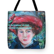 On The Terrace Renoir Rendition Tote Bag