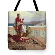 On The Terrace Tangiers Tote Bag by Rudolphe Ernst