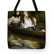On The Thames     A Heron Tote Bag