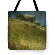 On The Top Of Grassy Hill Tote Bag
