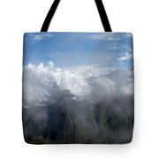 On The Top Of The World... Tote Bag