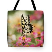 On The Top - Swallowtail Butterfly Tote Bag