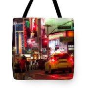 On The Town - Times Square Tote Bag