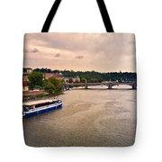 On The Vltava River - Prague Tote Bag