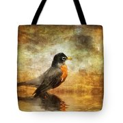 On The Watch For Worms Tote Bag
