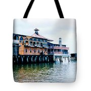 Buildings On The Water  Tote Bag