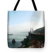 On The Way Back To San Francisco Tote Bag
