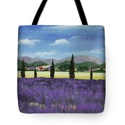 On The Way To Roussillon Tote Bag by Anastasiya Malakhova
