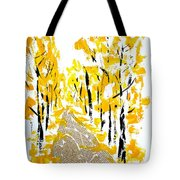 On The Way To School Tote Bag