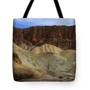 On The Way To Sunday Services Red Cathedral In Death Valley National Park Tote Bag