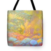On The Way To The Cascades Tote Bag