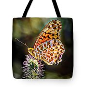 On The Wings Of A Butterfly... Tote Bag