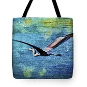 On The Wings Of Blue Tote Bag