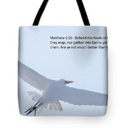 On The Wings Of Flight Tote Bag