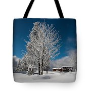 Winter On The Wurmberg, Harz Tote Bag