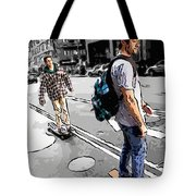 On Their Boards Tote Bag