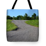 On To The Gravel Road Tote Bag