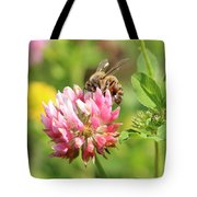 On Top Of The Blossom Tote Bag