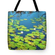 Once Upon A Lily Pad Tote Bag