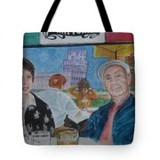 Joy And Frank Once Upon A Time In Tuscany Tote Bag