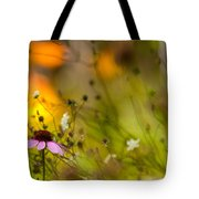 Once Upon A Time There Lived A Flower Tote Bag by Mary Amerman