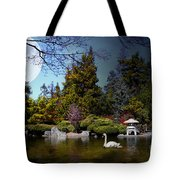 Once Upon A Time Under The Moon Lit Night . 7d12782 Tote Bag