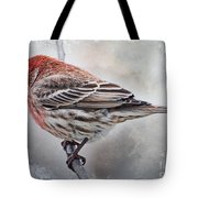 Once Upon A Winters Day Blank Greeting Card Tote Bag