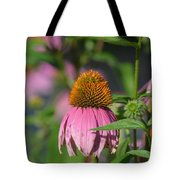One Among The Coneflowers Tote Bag
